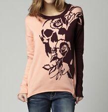 Fox Racing Women's Runaway Sweater Orange Sherbet Size S