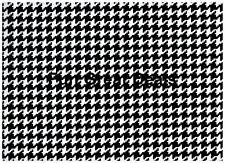 Kittrich Houndstooth Black White Contact Paper Shelf Liner Kitchen Drawer Crafts