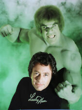 "THE INCREDIBLE HULK funny LOU FERRIGNO signed 13"" x 17"" poster!"