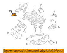 Mercedes MERCEDES-BENZ OEM GLK350 Seat Track-Track Cover Right 20491924209051