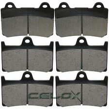 Front Rear Brake Pads For Yamaha XV1700AT Road Star 1700 Silverado 2004-2010