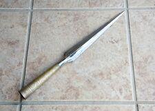 Hanwei   Viking Long Bladed Throwing Spearhead 'Niello' Pattern Reenactment Art