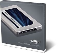 "Crucial MX300 SSD CT1050MX300SSD1 1TB 2.5"" SATA III HDD Hard Disk Solido NUOVO"