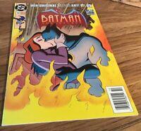 Batman Adventures 13 OCT 93 Very Good Condition Talia Al Ghul Kissing Batman