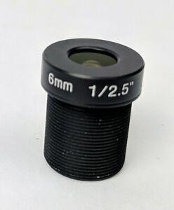Arecont Vision Megapixel 6mm Replacement Lens M12 IR 1/2.5 F1.6 MPM6.0