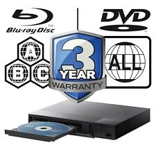 Sony Blu-ray Player Multi Region All Zone Code Free BDPS1500B BDP-S1500B