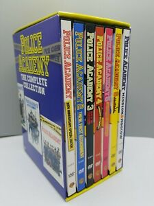 Police Academy Collection (DVD, 2004, 7-Disc Set) - RARE, OUT OF PRINT Edition!!