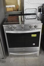 """Whirlpool Wee750H0Hz 30"""" Stainless Slide-In Electric Range #47030 Hrt"""