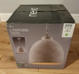 """Next Lydford Pendant Brand New """"Direct from Next Directory"""" Brand New (Opened)"""