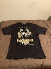Logan Paul vs Floyd Mayweather Boxing Promo Graphic T-Shirt Sz XL Monarch
