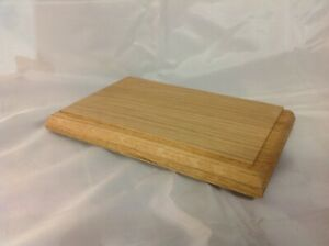 Oak Display Plinth....multi listing several sizes and bespoke sizes