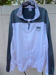 UNITED STATES 2012 OLYMPIC COMMITTEE LONDON FULL ZIP UP PULLOVER SZ 3XL