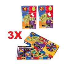 3X 4th Edition 1 Jelly Belly Spinner Game 3.5oz + 2 Bean Boozled 1.6oz #102243F