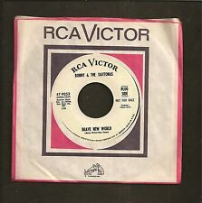 Ronny & Daytonas Brave New World b/w Hold Onto Your Heart Promo 45 Record
