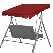 """BenefitUsa Canopy Only Patio Outdoor 65""""x45"""" Swing Canopy Porch Top Cover Sea."""