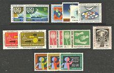 UN-New York #123-136, 1964 Annual Set, Unused NH