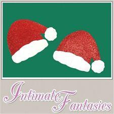 Sexy Santa Claus Hat Nipple Cover Pasties Secret Santa Gift Xmas Present Novelty
