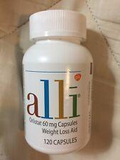 Alli Orlistat 60mg Weight Loss Supplement Pills - 60 Count - EXP 02/2022