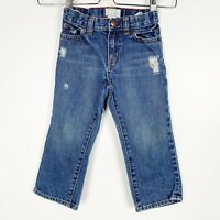 Crewcuts J.Crew Toddle Boys Distressed Denim Jeans Size 3T