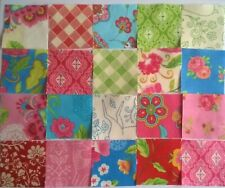 Gypsy Spring Squares Fabric Pack remnants patchwork bundle 100% cotton 5cm sqs