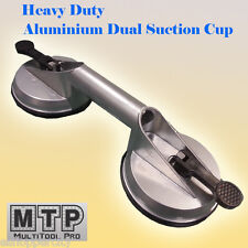 """Dual Heavy Duty 4-5/8"""" Aluminium Suction Cup Dent Puller Lifer Glass Remover"""