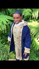 OOAK Leslie Odom Hamilton Musical Barbie Ken Doll Aaron Burr Broadway 1:6
