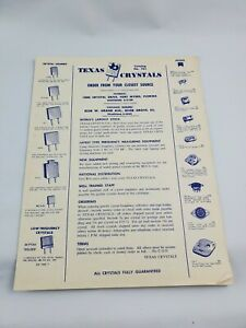 Vintage Texas Crystals Product Catalog Number 761 Fort Myers Florida