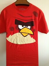 Red Angry Birds ~ branded ~ Men Unisex Large T-Shirt