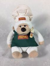 "Nabisco Limited Edition Plush Pals ""Fusilli"" The Gorilli 7"" Sitting Chef's Hat"