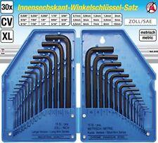 Bgs 810 - 6 Kant-winkelschlüsselsatz pouce Métrique