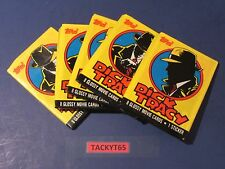 1990 DICK TRACY TRADING CARDS LOT OF (5) UNOPENED PACKS