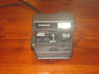 Polaroid One Step Auto Focus AF 600 Film Instant Camera Flash TESTED WORKS