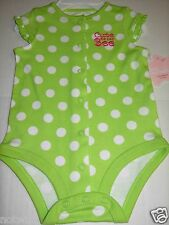 First Moments Infant Baby Girl Bodysuit Short Sleeve Cute as A Bee! 6 Months NWT