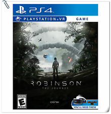 PSVR Robinson: The Journey SONY PLAYSTATION Action Games SCE
