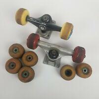 Lot of Skateboard Trucks Wheels Birdhouse Unit