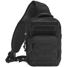 Brandit US Cooper Sling Pack One Strap Backpack Everyday Carry Bag Outdoor Black