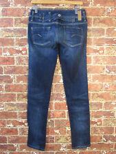 G-Star Approx 26 Jeans Damen Blau Blue Denim Skinny Slim Dark Wash