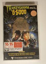 Transylvania 6-5000 [VHS] Roadshow Big Box Ex-Rental Video Tape Horror 1985!
