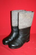Original NVA Thermostiefel Filzstiefel Winter Leder Stiefel Gr. 42 DDR 28 Nr. 17