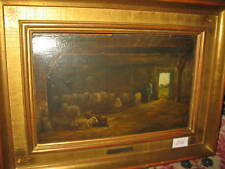 VAN DEN BERG Simon, *1812 Wundervolles Stall Interieur