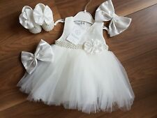 Baby Girl Absolutely Stunning VISARA Diamante Dress & Shoes Outfit £27.99
