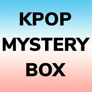 Kpop Box - Lot / Bundle Includes Album, Official Goods, Gifts, Etc.