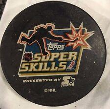 NHL Topps Super Skills Commemorative Hockey Puck