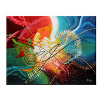 Wall Art Canvas Print,Abstract Oil Painting Modern Living Room Picture Home Deco