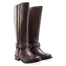 Redfoot Twin Zip Knee High Boots Beatrix Brown Size UK 6 EU 39 BT03 67