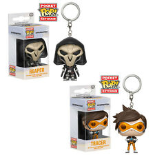 Funko Pocket POP! Keychains - Overwatch - SET OF 2 (Reaper & Tracer) - New