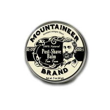 Mountaineer Brand® Post-Shave Balm (Tea Tree), 2 oz.