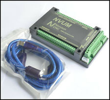 CNC USB Mach3 Motion Control Card Breakout Interface Board NVUM 200KHz 4-Axis