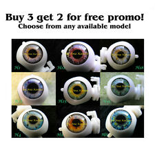 New FLex custom Blythe eye chips BUY 3 GET 2 FOR FREE promo, by Ana Karina