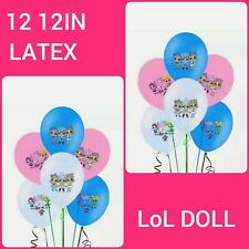 12X12IN LATEX LOL SURPRISE DOLL BALLOONS